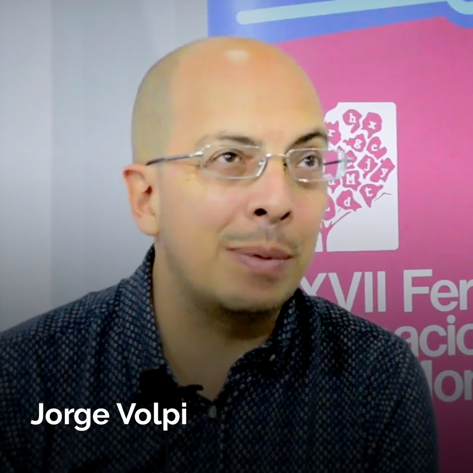 Jorge Volpi at the 2017 Monterrey International Bookfair