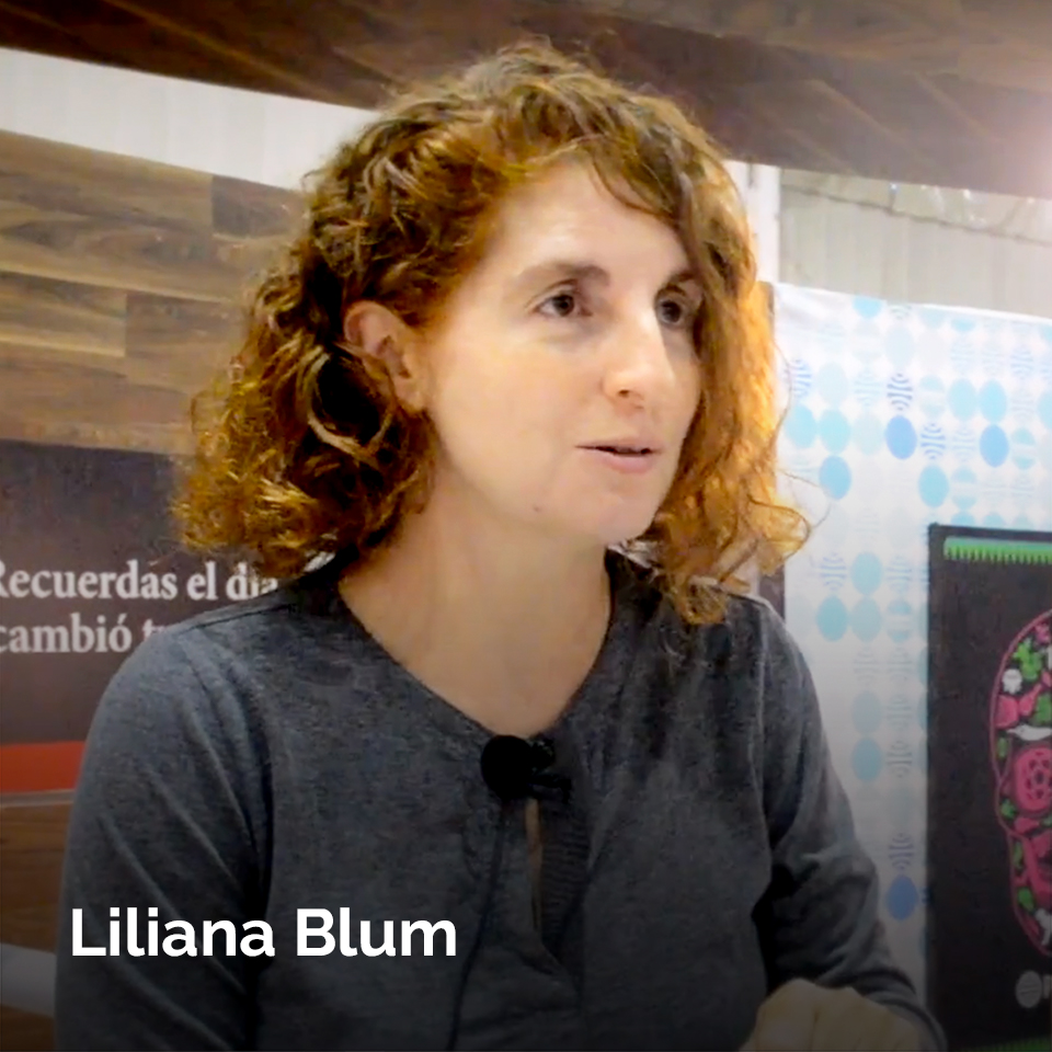 Liliana Blum at the 2017 Monterrey International Bookfair