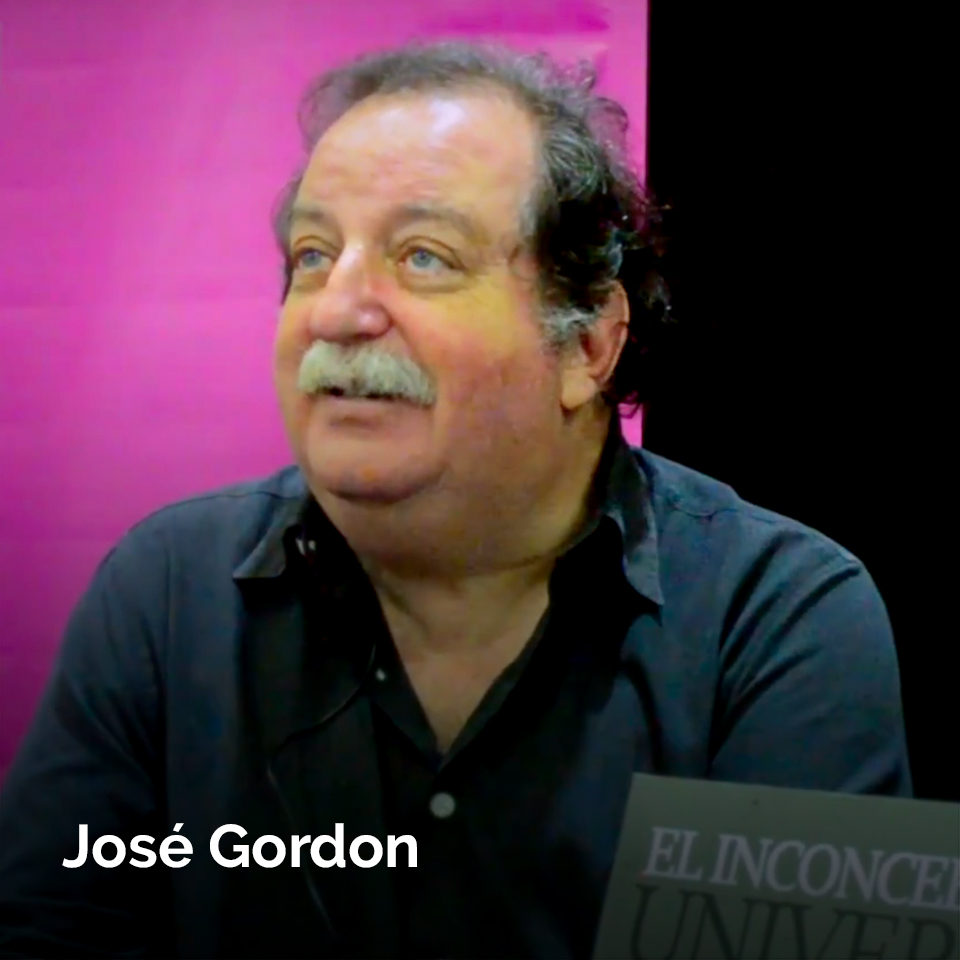 José Gordon at the 2017 Monterrey International Bookfair