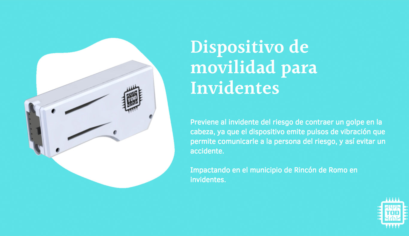 Dispositivo para invidentes