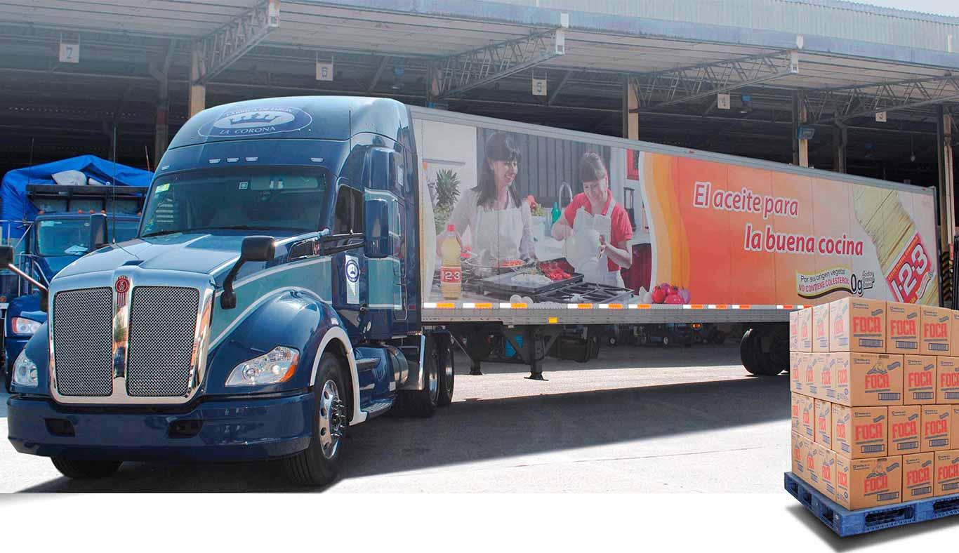 El objetivo era mejorar la red logística y ser sustentables a largo plazo