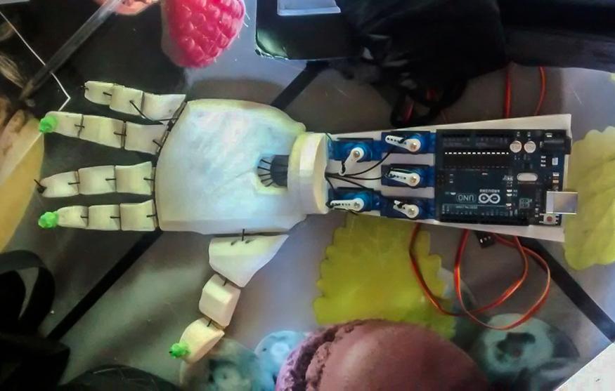 Crea empresa de prótesis para personas con discapacidad