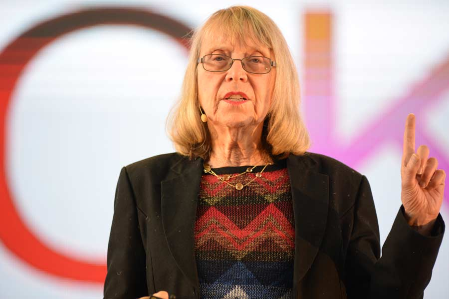Esther Wojcicki.