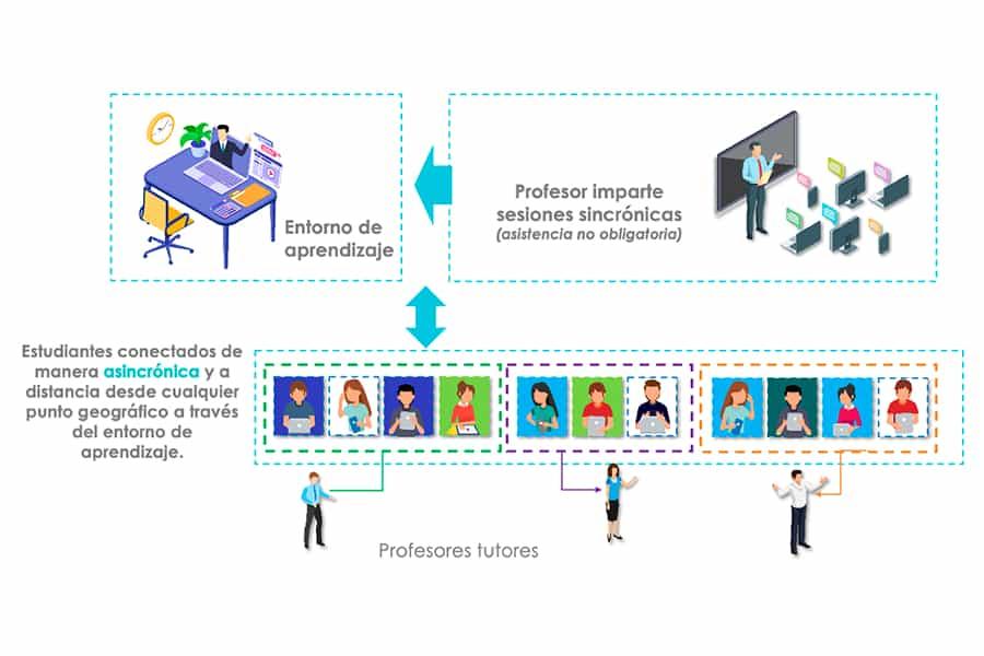 Diagrama Curso en línea
