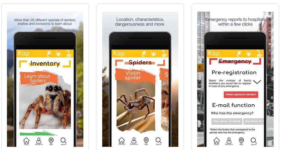 App que permite identificar diversas especies de arañas, alacranes y serpientes