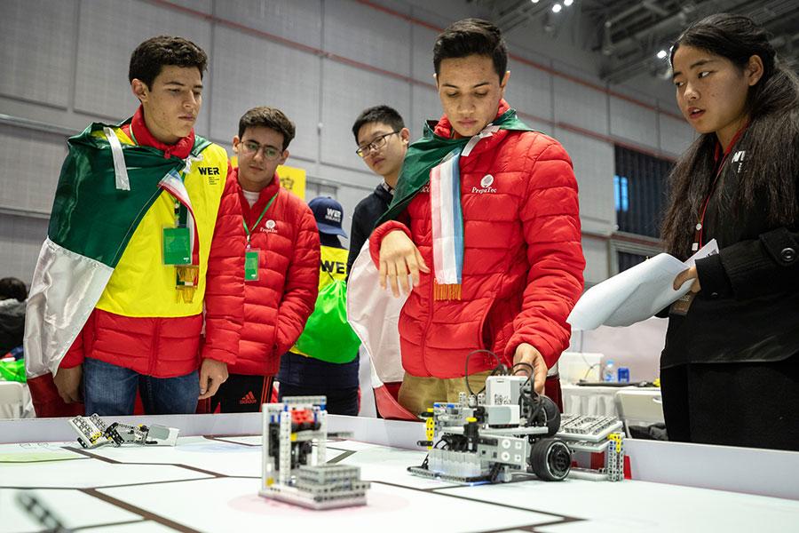 PrepaTec Chihuahua en WER Robotics