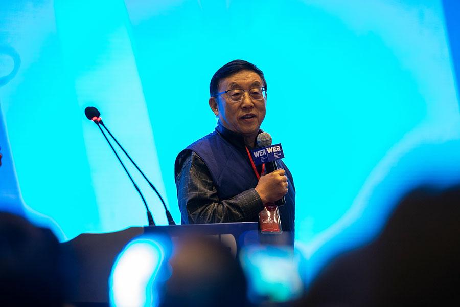 Chia Tianyou, uno de los académicos más reconocidos en el área de tecnología en China.