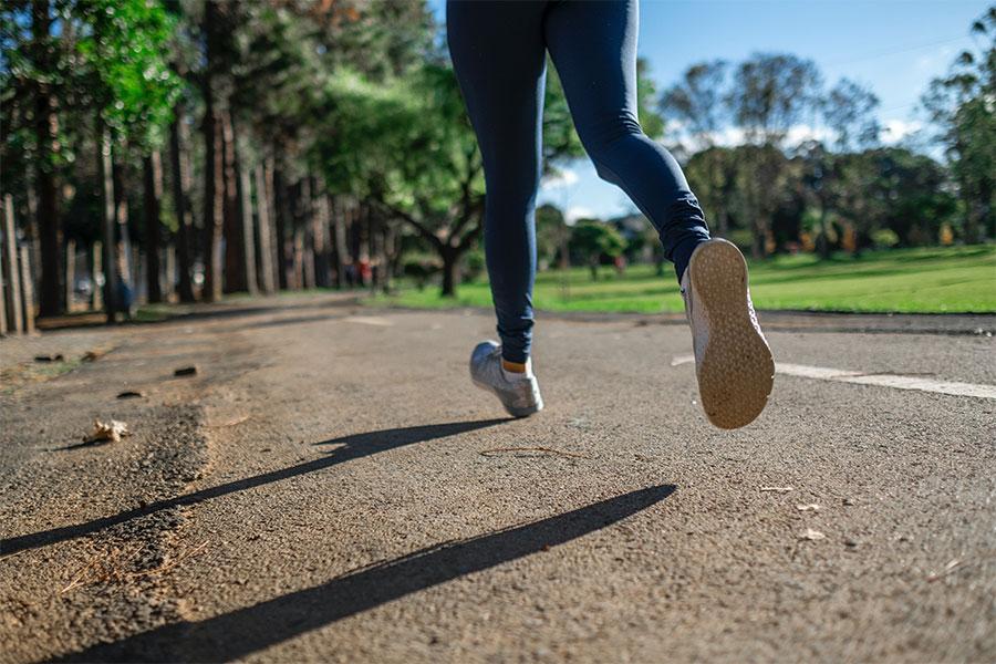 correr y caminar para empezar a hacer ejercicio