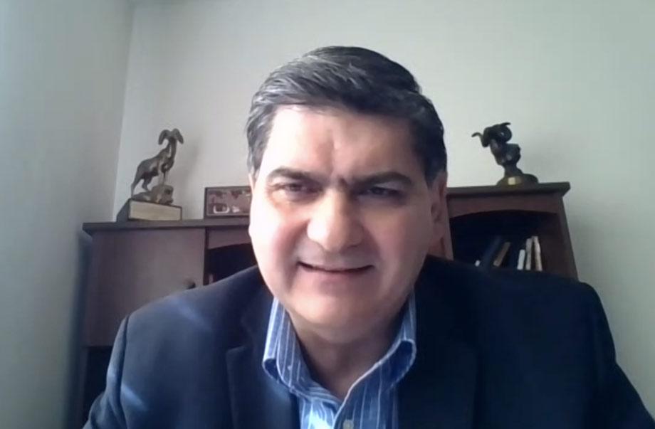 David Garza, rector y presidente ejecutivo del Tec de Monterrey.
