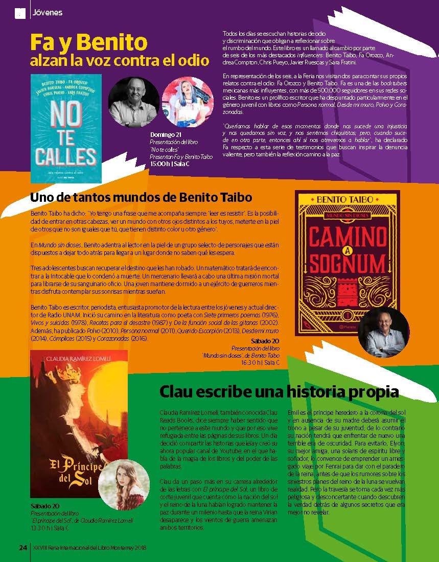 Vive La Feria Del Libro Tecnológico De Monterrey
