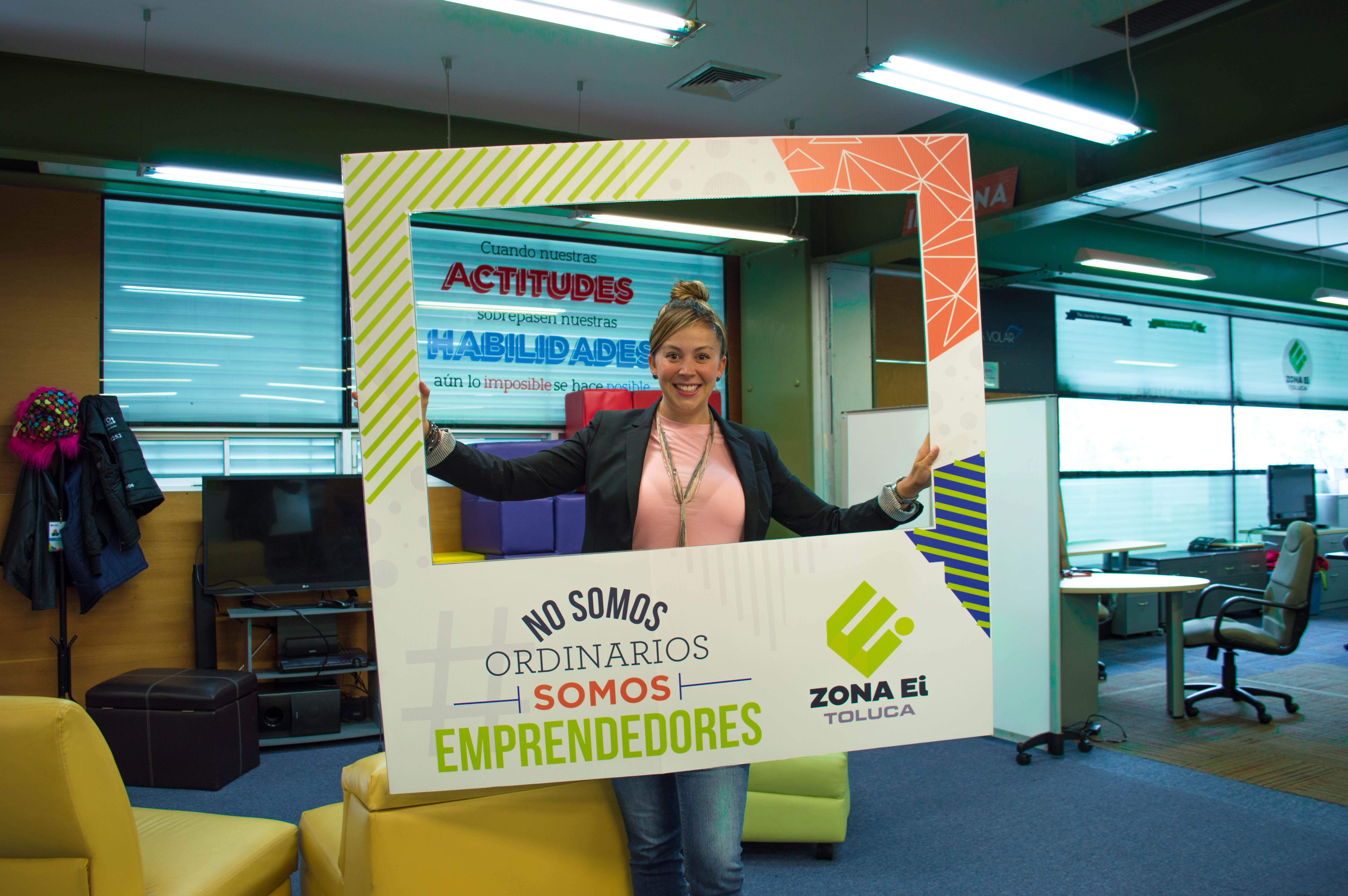Ruth Santana, EXATEC que dio el discurso inaugural del Foro Mujer Emprendedora 2018 del Estado de México