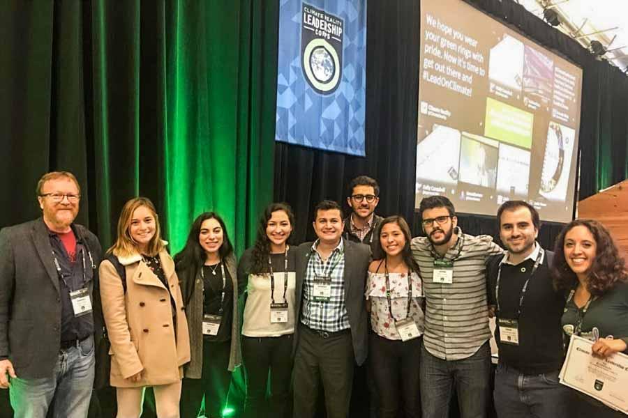 Gabriela Guerrero en Climate Reality Leadership Corps en Pittsburg