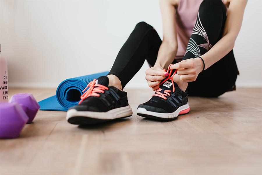 Empieza a hacer ejercicio en casa para llevar una vida fitness
