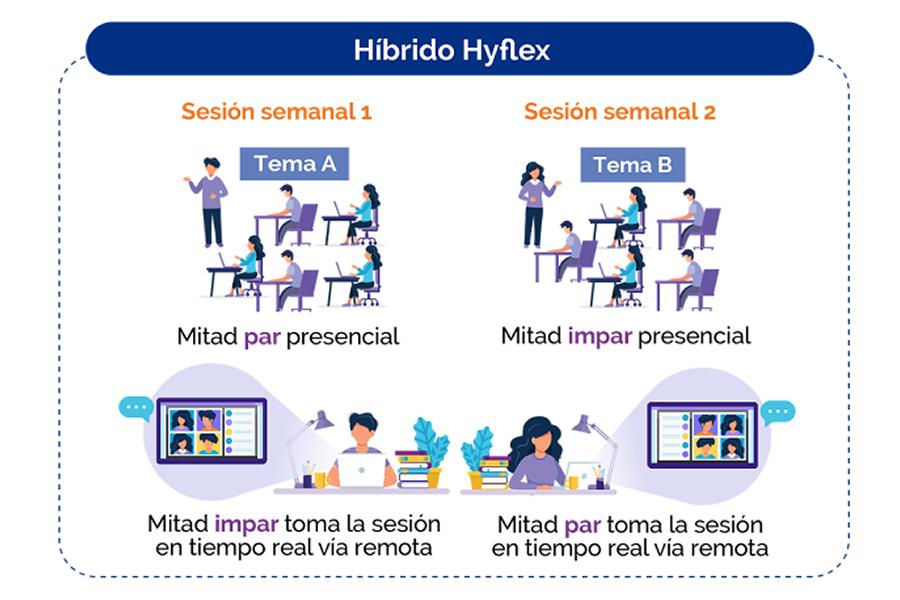 Diagrama modelo HyFlex
