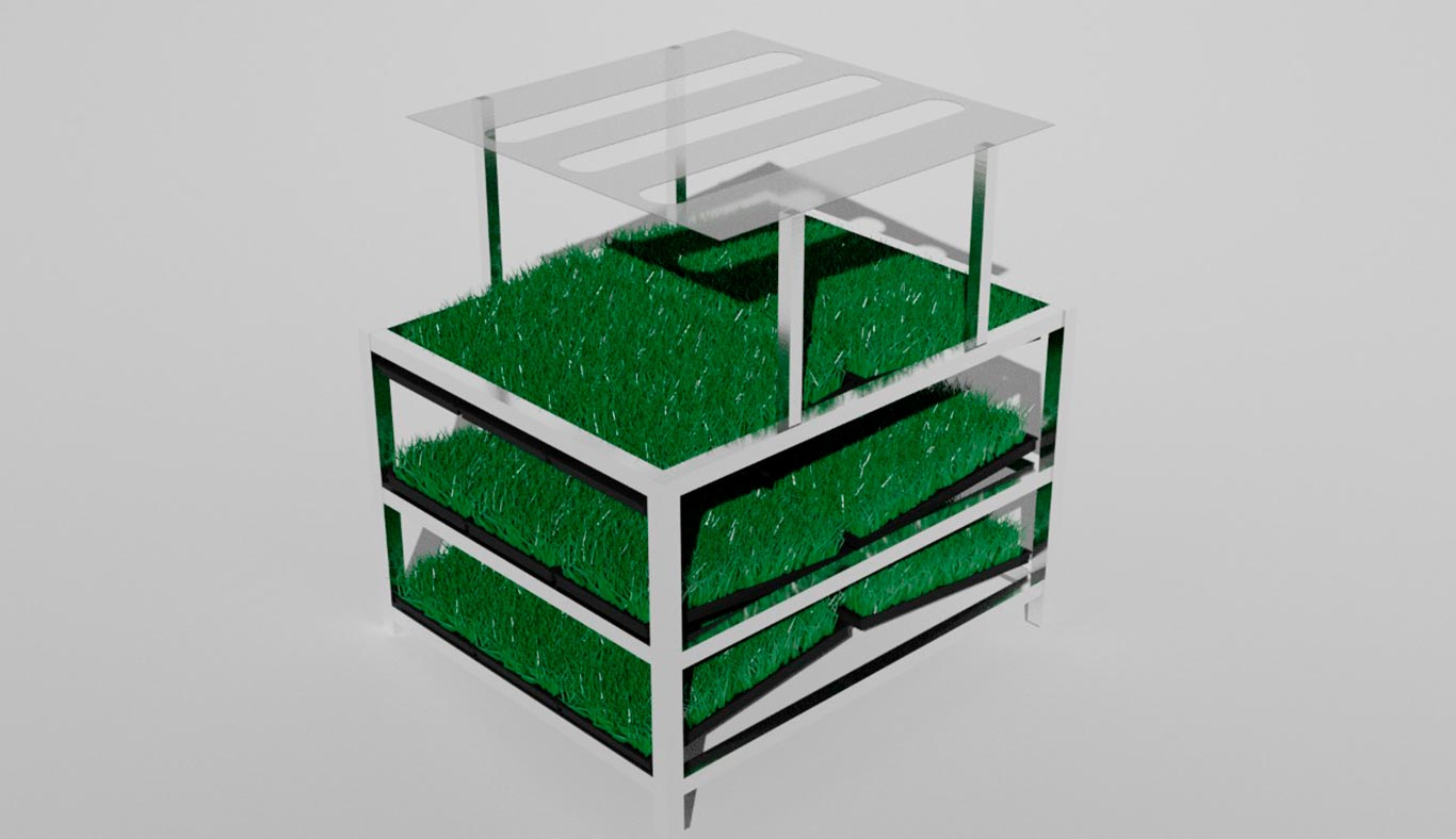 Smart Greenhouse Forage Producer