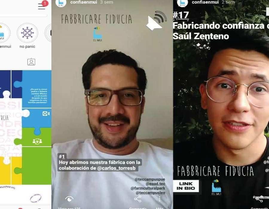 """""""Fabricar confianza"""" es un trabajo conjunto con el Nuevo Centro Cultural """"Farm Cultural Park"""" de Italia"""