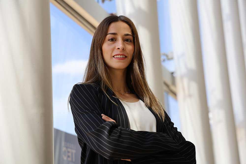 Paola Morán es estudiante del Tec ejemplar y destacada deportista.