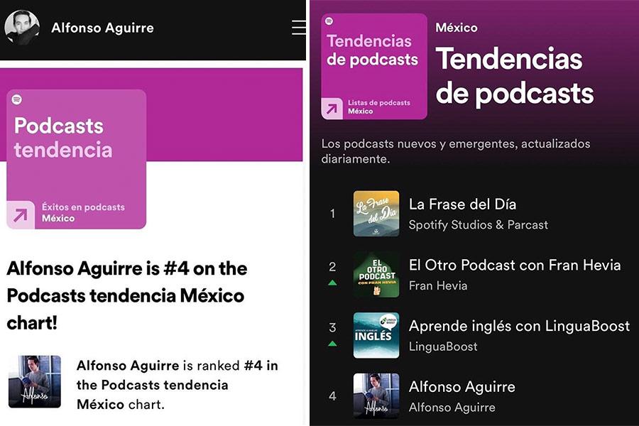 Podcast de egresado del Tec llega al top 5 de Spotify ...