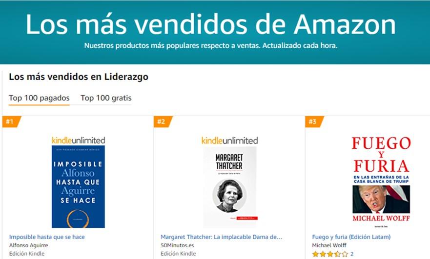 Alfonso Aguirre - Libros más vendidos Top de liderazgo aguirrealfonso