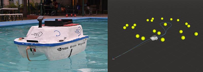 Embarcación VantTec y simulaciones