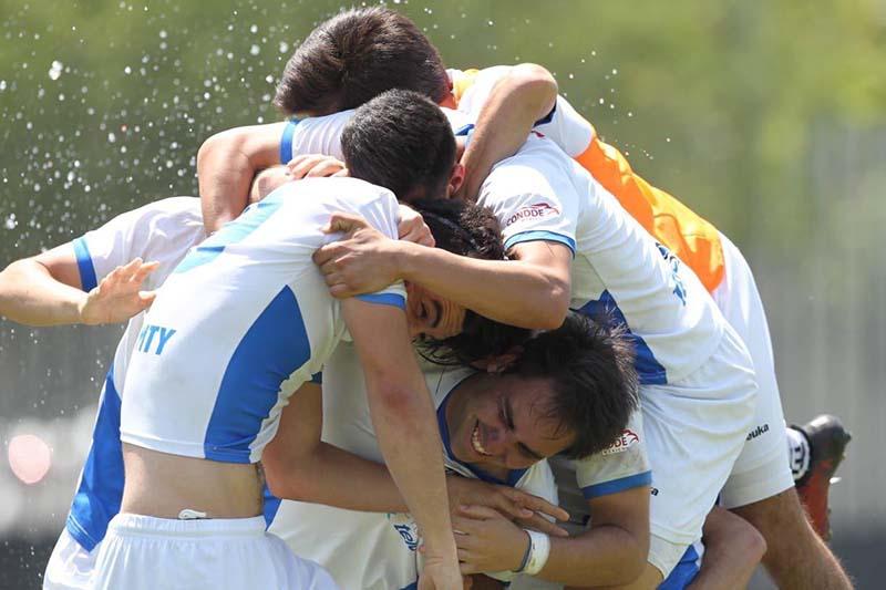 Foto festejo Borregos Monterrey Futbol Soccer