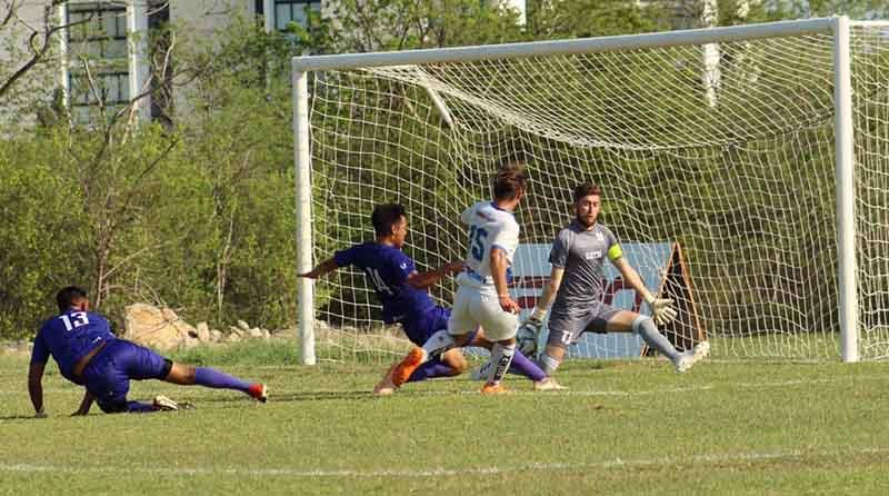 Foto Borregos Monterrey Soccer jugada
