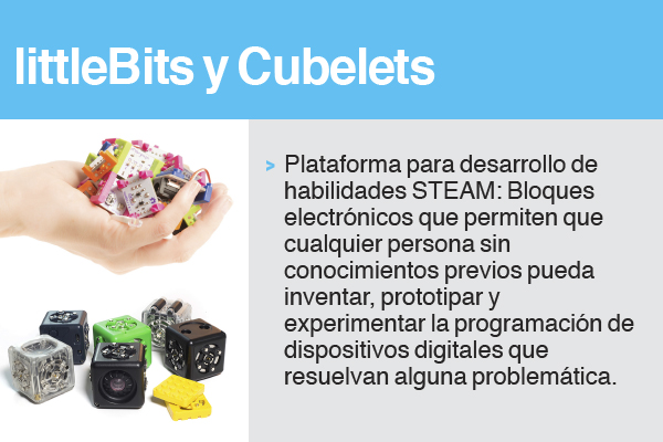 littleBits y Cubelets