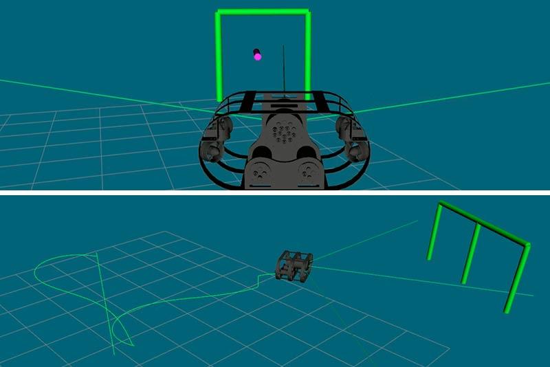 Simulación RoboSub