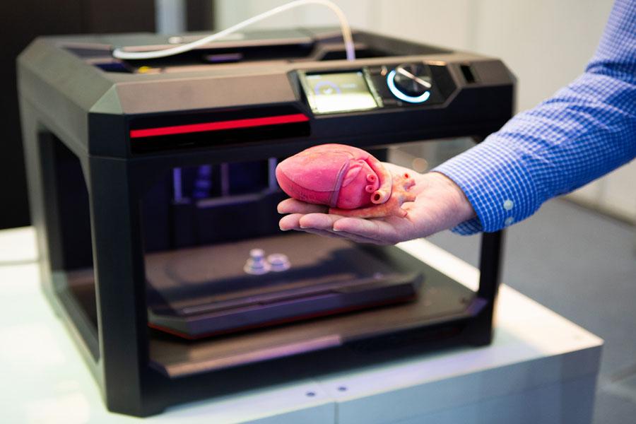 La impesión 3D será parte de avances tecnológicos en varias áreas.