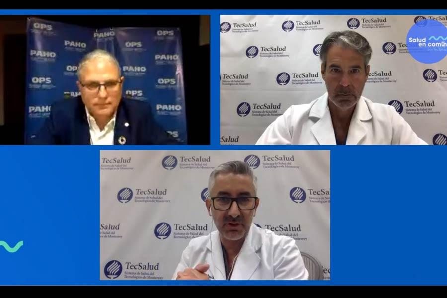 Los expertos hablaron sobre el sistema de salud público en México