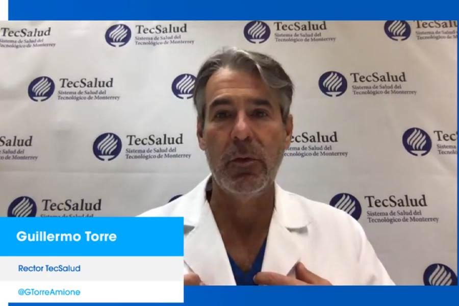 El doctor Guillermo Torre habló sobre los retos que implicó la pandemia.