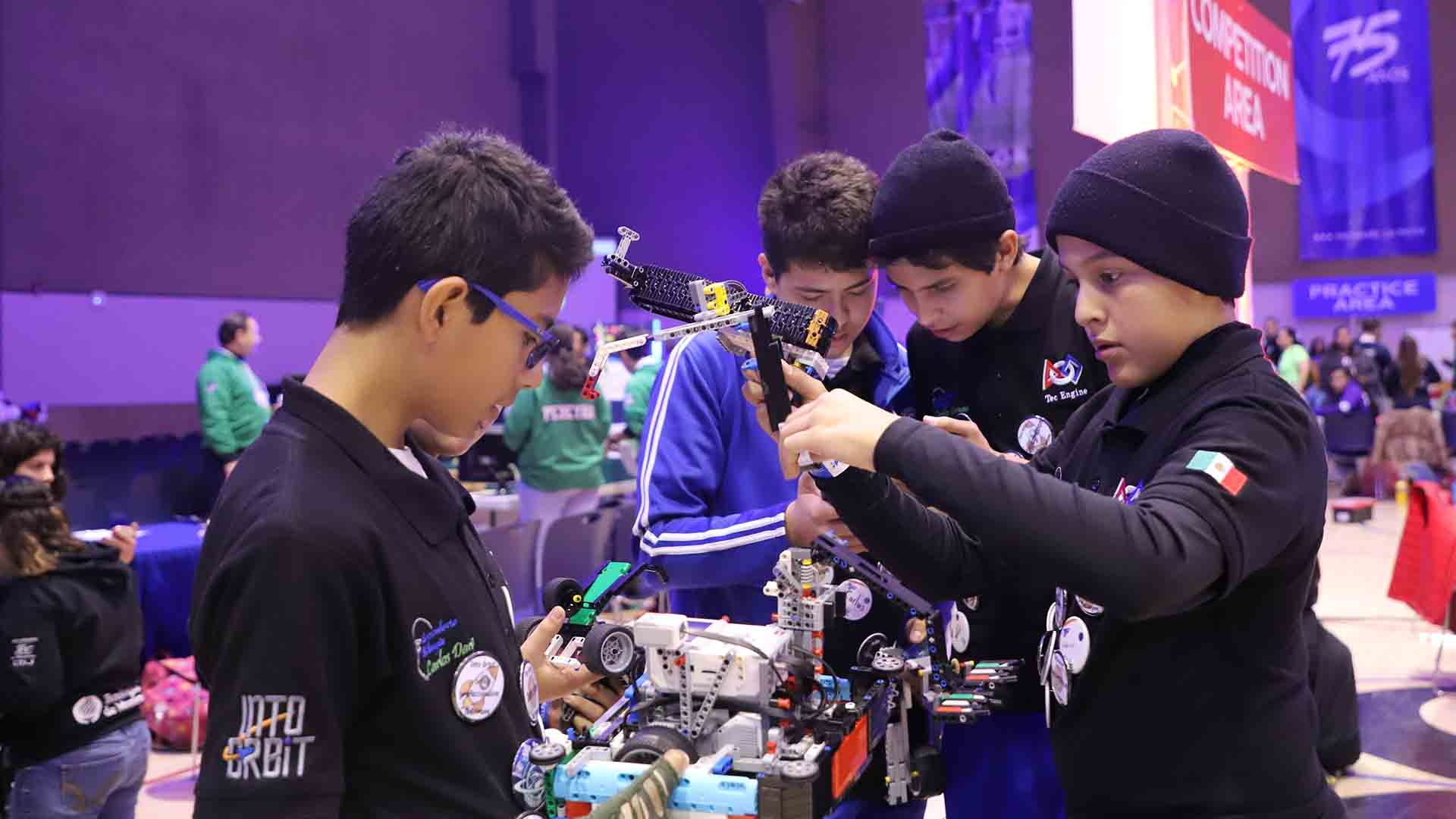 First Lego League en Tec de Monterrey campus Laguna
