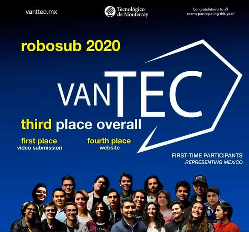 Vanttec Robosub 2020