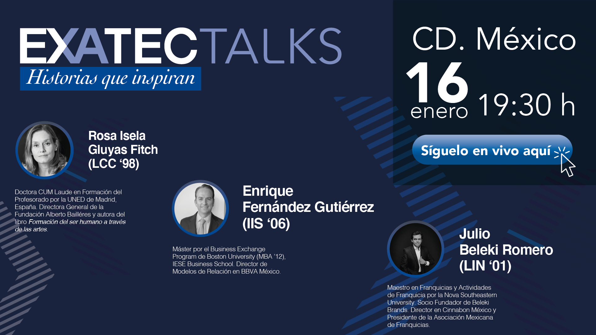 EXATEC Talks CDMX 2020