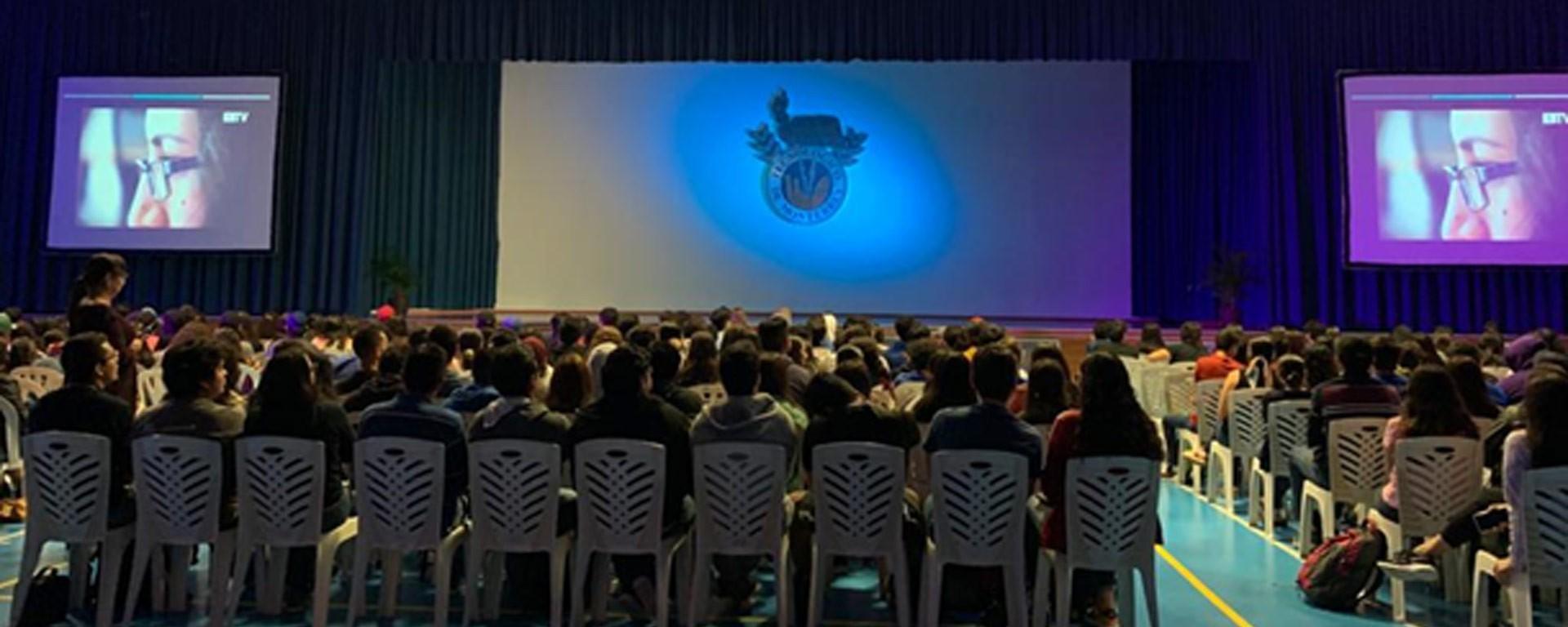 Ceremonia del lanzamiento del Código de Integridad Académica en el Campus Tampico del Tec de Monterrey
