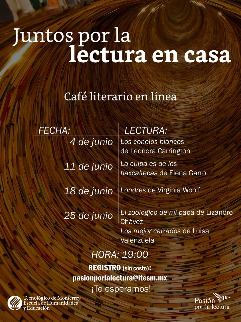 Cafe literario junio
