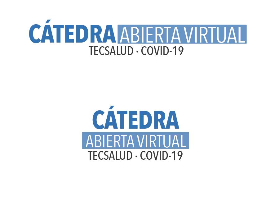 Cátedra Virtual TecSalud Flyer