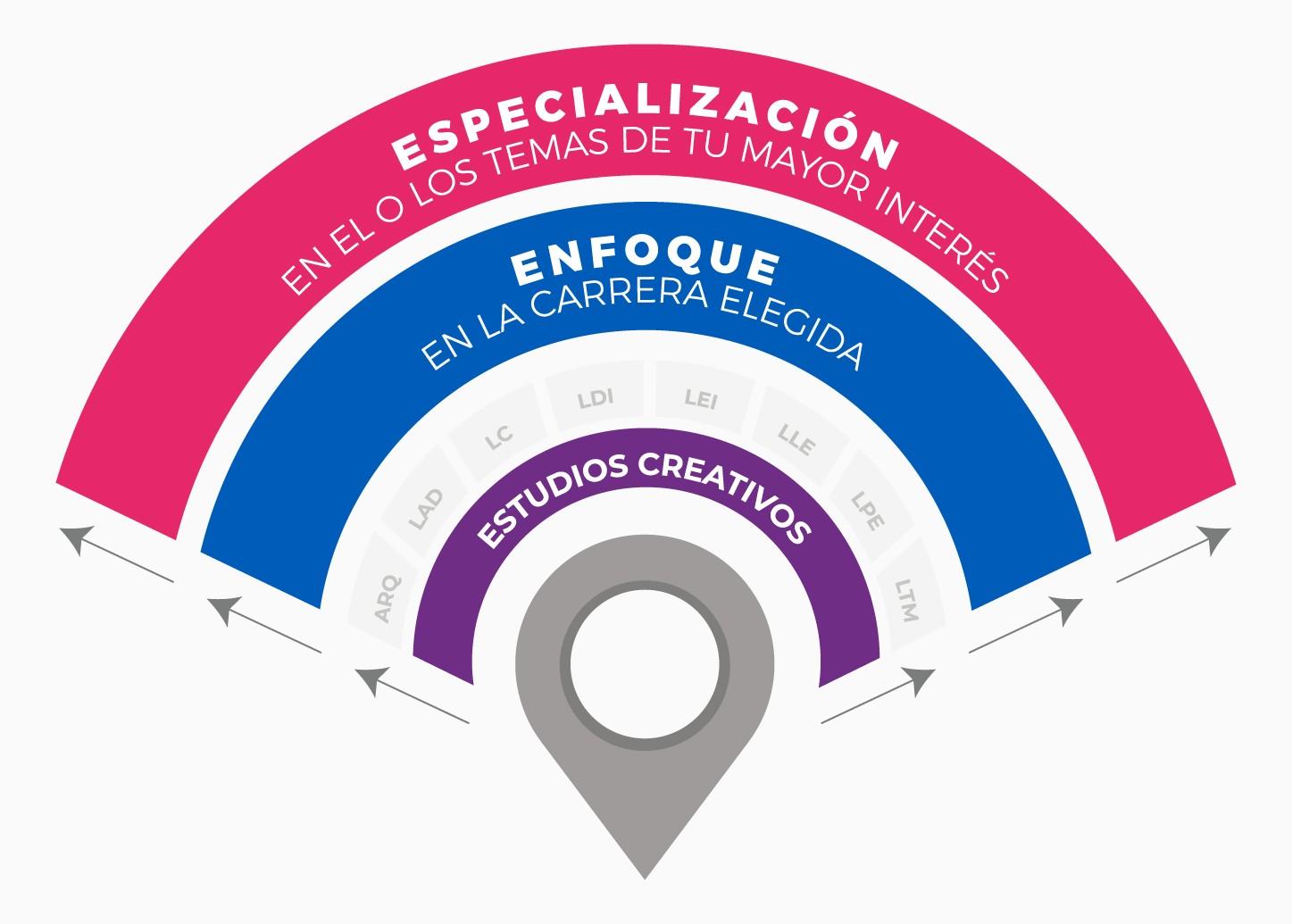 Estudios creativos etapas del modelo
