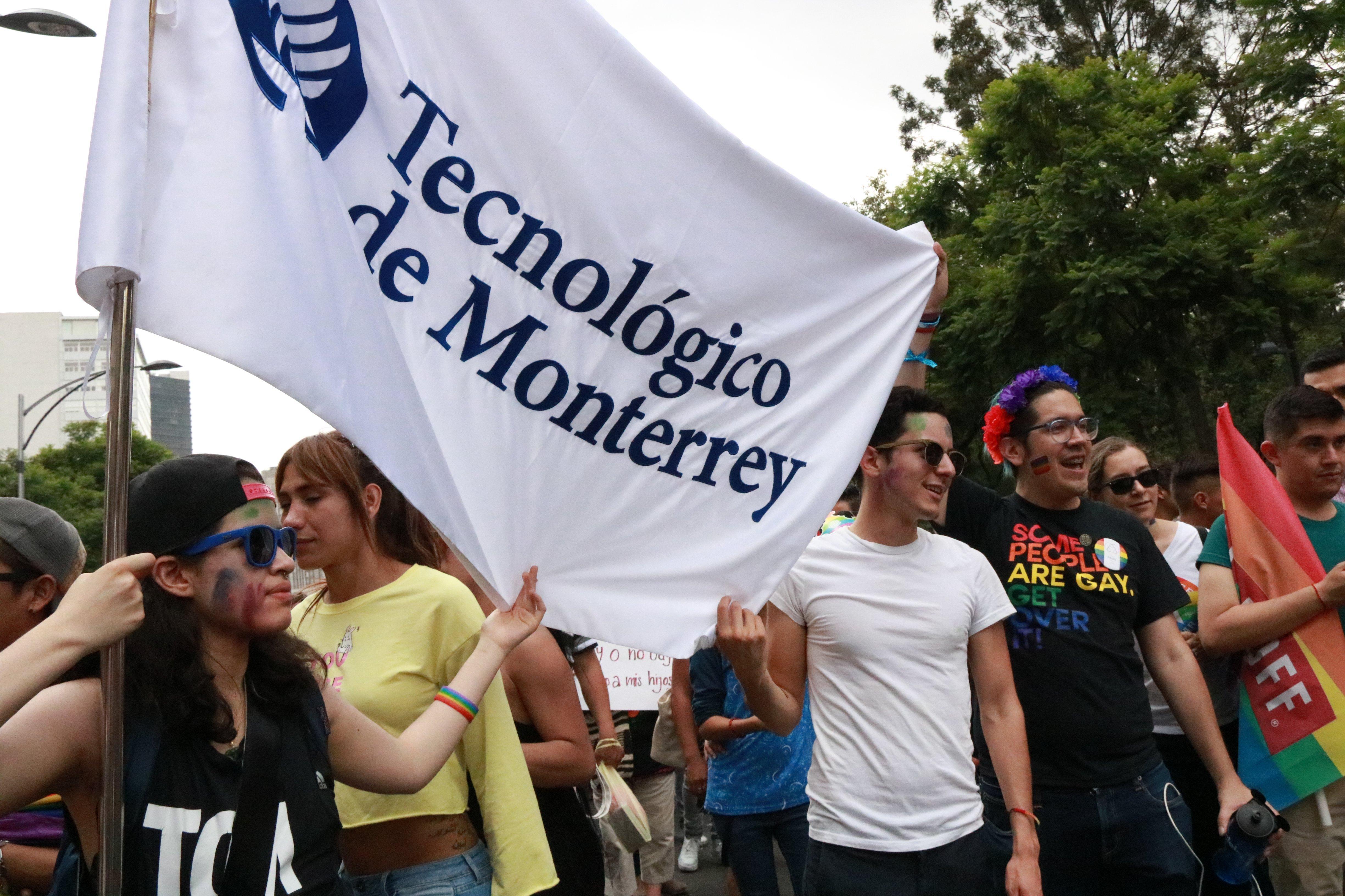 El Tec De Monterrey Presente En El Orgullo2017 Tecnologico De