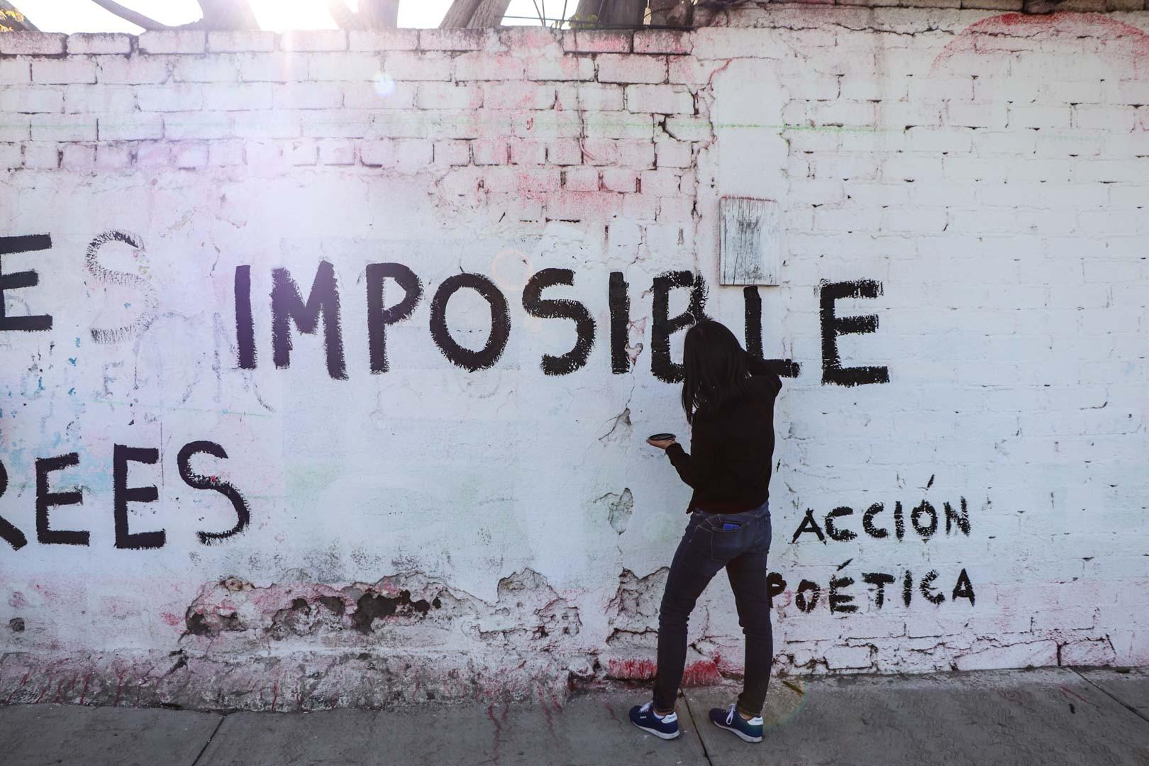 Alumnos Se Unen A Acción Poética Para Transformar Su Entorno