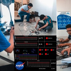 They've done it again! Third-time winners of the NASA telemetry prize