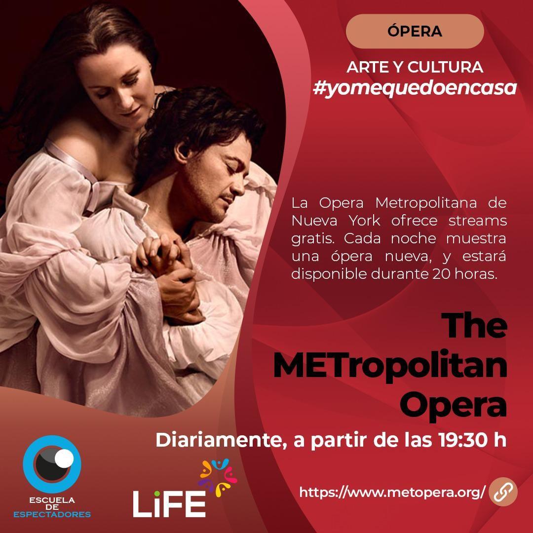 Opera metropolitana en Nueva York